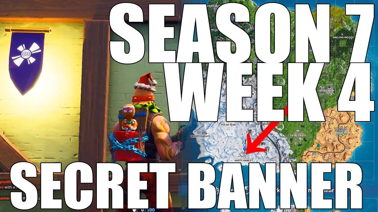 Download Fortnite - Find the secret Banner in Loading Screen #4 (Season 7 Week 4)