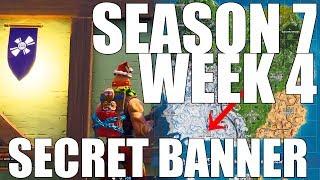 Fortnite - Find the secret Banner in Loading Screen #4 (Season 7 Week 4)
