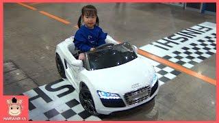 자동차 왕국 간 유니! 신기한 자동차 장난감 키즈카페 놀이 ♡ Audi R8 Car Toys Fun Play for kids | 말이야와아이들 MariAndKids