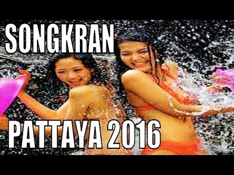 SONGKRAN THAILAND WATER FESTIVAL PATTAYA 2016
