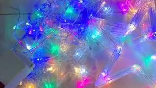 Đèn Led Trang Trí Hình Ngôi Sao -Đèn led rèm 10 ngôi sao - Đèn led nhấp nháy trang trí hình ngôi sao