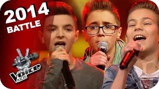 Bruno Mars - Treasure (Noah/Stepan/Theodore) | The Voice Kids 2014 | Battles | SAT.1