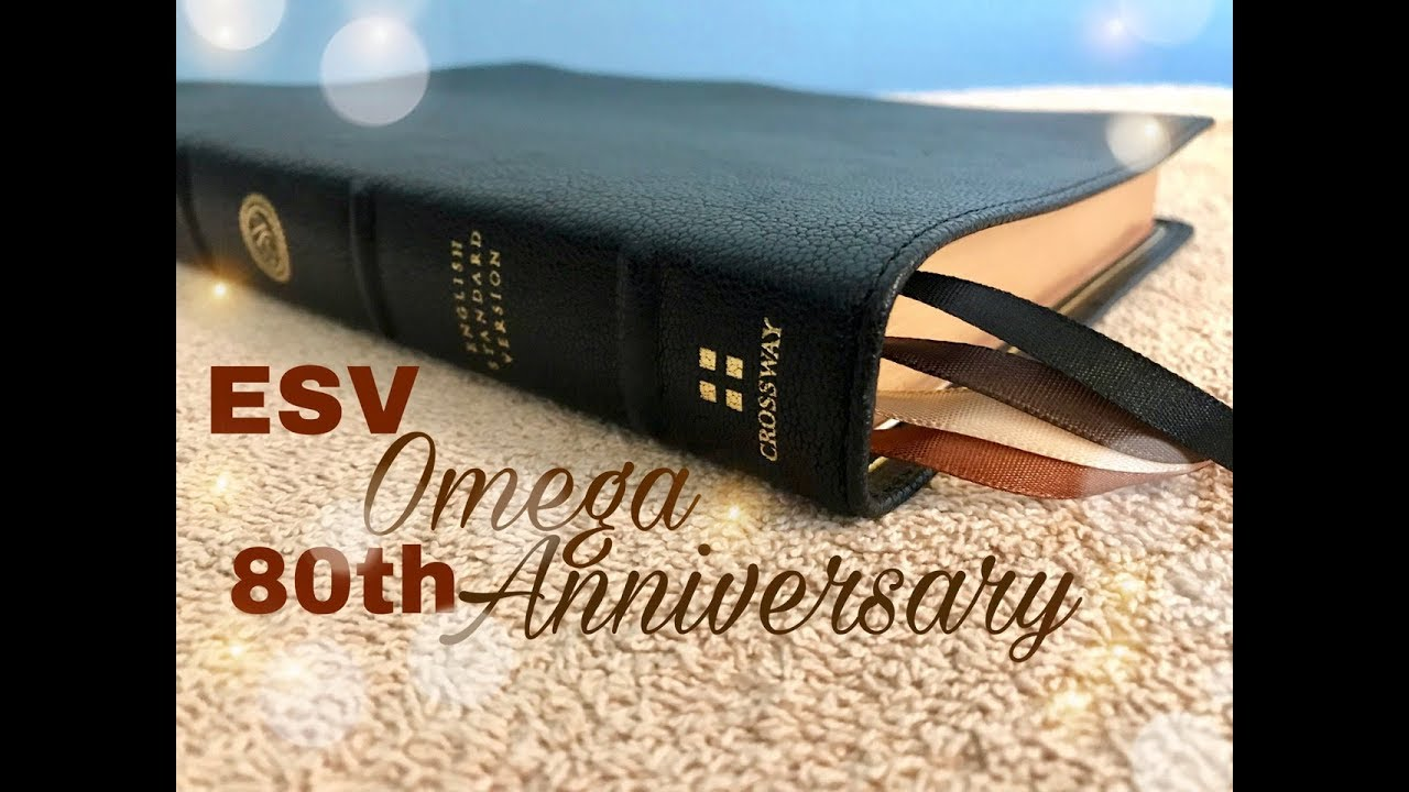 Crossway ESV Omega 80th Anniversary Bible Review