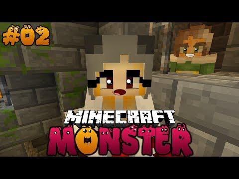 DER GEHEIMNISVOLLE MONSTER KELLER ✿ Minecraft MONSTER #02 [Deutsch/HD]