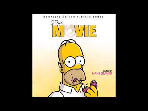 The Simpsons Movie Soundtrack Homer S Epiphany Youtube