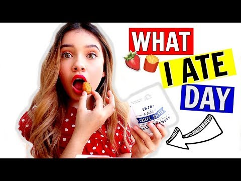 What I ate in a day vlog  🍓🍟sophie michelle says