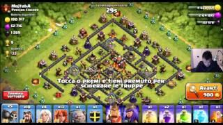 Clash of Clans ITA base War: Difesa perfetta anti 3 stelle contro TH10 TH11 TH9 [HsiamaMaxato]