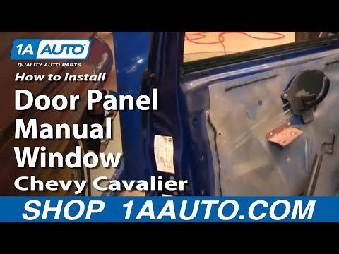 How To Remove Front Door Panel 95-05 Chevy Cavalier