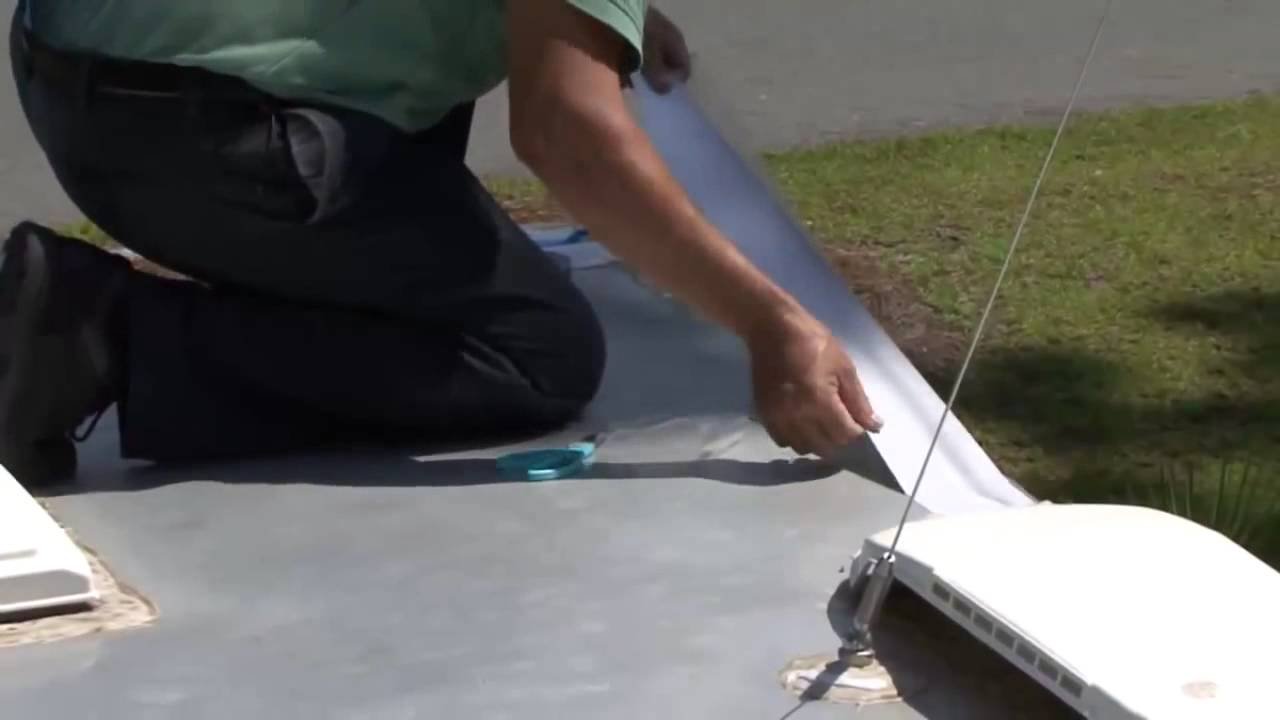 Coating Your Rv Roof With Dicor S Metal Roof Coating