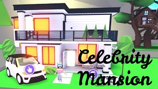 CELEBRITY MANSION (Roblox Adopt me) Indoor pool, SUV | Its SugarCoffee