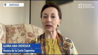 """Ministra Chevesich: """"La gran deuda del sistema penal chileno es la ejecución de las penas"""""""