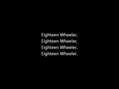 Roll On (Eighteen Wheeler)-Alabama (Lyrics)