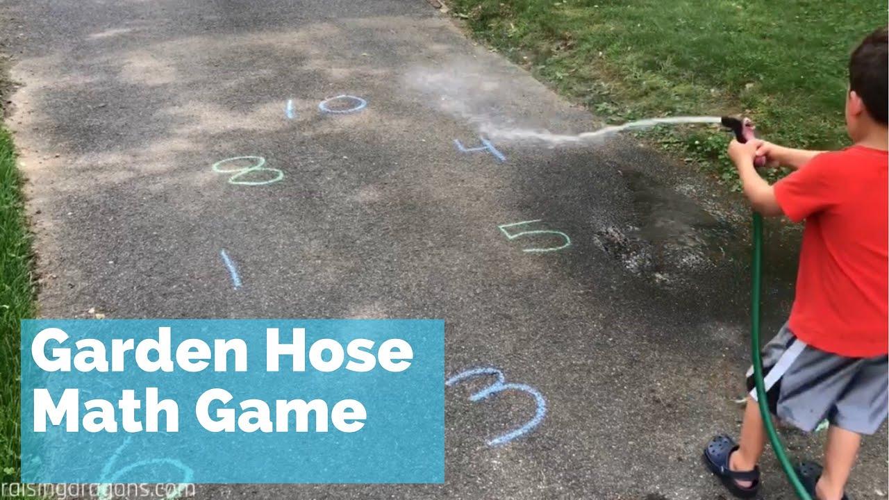 Math Activities For Preschoolers Water Hose Math Game Fun Kids