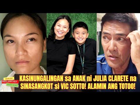 Download KASINUNGALINGAN sa ANAK ni Julia Clarete kay Vic Sotto! ALAMIN ang TOTOO!
