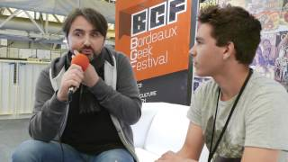 Interview GussDx - Bordeaux Geek Festival 2015