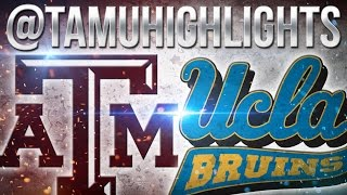 Texas A&M Highlights vs UCLA 9-3-2016 ᴴᴰ