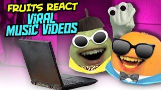 Annoying Orange - Reacting to Our Viral Music Videos!
