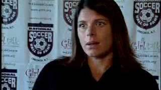 Mia Hamm and Julie Foudy Interviews