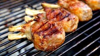 Lamb Chops & Salade Recipe