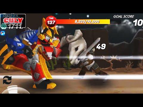 Trò chơi siêu nhân càng quét quái vật Power Rangers Dash | Cu lỳ chơi game #11 | gameplay