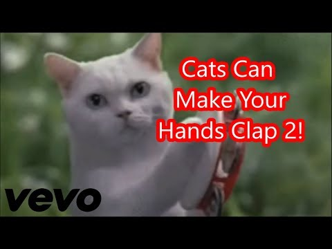 Cats Can Make Your Hands Clap 2!
