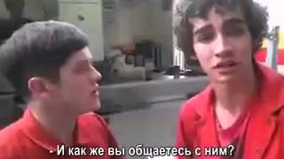 Нейтан и Саймон за кадром [rus sub]