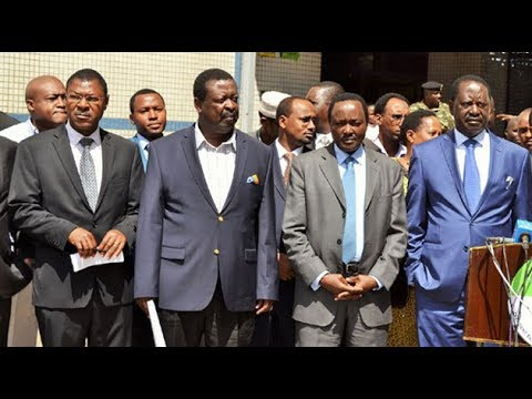 """""""No more boardroom meetings,"""" - NASA statement on meeting with IEBC"""