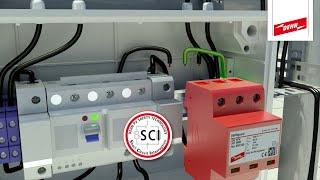 Überspannungsschutz von Photovoltaikanlagen mit dem DEHNguard® YPV SCI