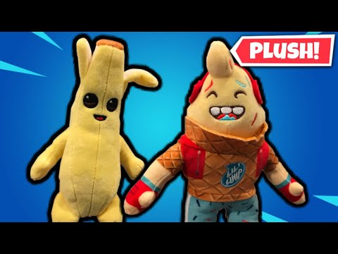 Peely And Lil Whip Official Fortnite Plushies Review