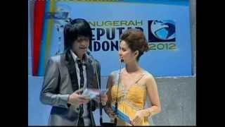 Dian Mirza di Anugrah Seputar Indonesia 2012