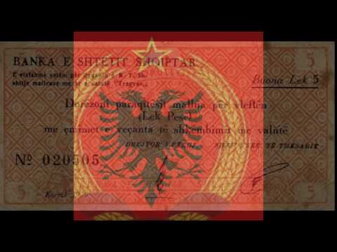 Currencies of the World: Peoples Socialist Republic of Albania; Albanian Lek (1950)