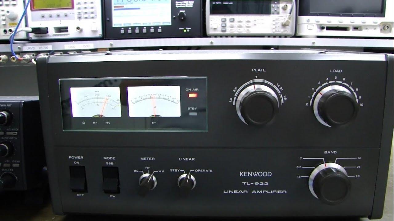 ALPHA TELECOM: AMPLIFICADOR KENWOOD TL-922 COM AMPEREX 3-500Z REVISÃO GERAL e ALINHAMENTO