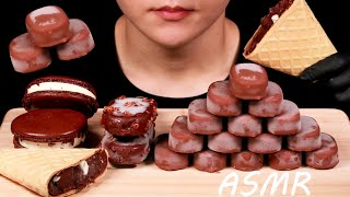ASMR CHOCOLATE ICECREAM TICO w…