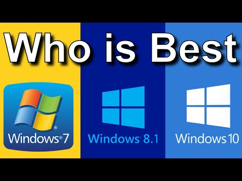 Difference Between Windows 7 Or Windows 8.1 And Windows 10 | What Is Best?