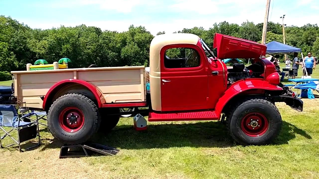 1956 Dodge Power Wagon Pickup Truck Youtube 1949 Crew Cab