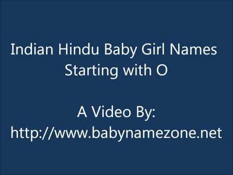 Indian Hindu Baby GIrl Names O
