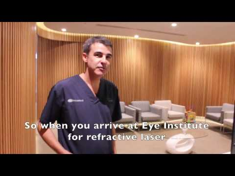 Lasik Suite tour with Dr Adam Watson at Eye Institute, AUCKLAND.