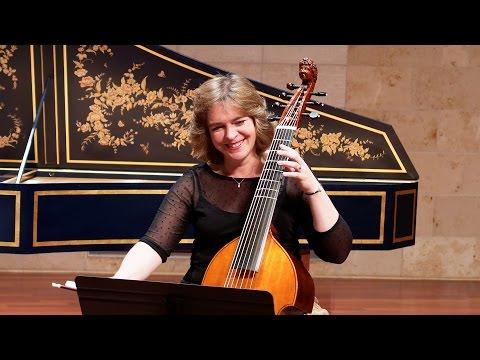 String crossings on the viola da gamba; Cassandra Luckhardt