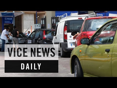 VICE News Daily: Greeks Stock Up on Fuel Amid Financial Crisis