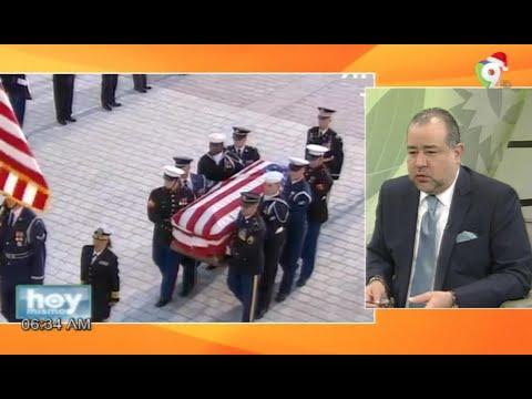 Estados Unidos despide con todos los honores a George Bush padre - Hoy Mismo