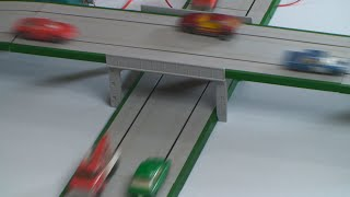 Matchbox Motorway -  mixed traffic busy road