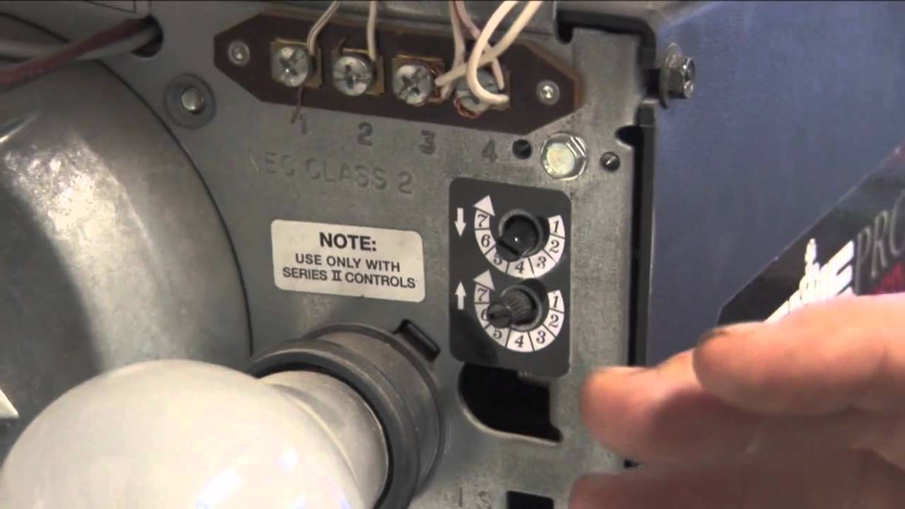 How To Give Your Garage Door Opener More Power Youtube Genie Drive Motor Wiring Diagram