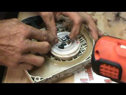 Stihl Starter Pawl Replacement Youtube