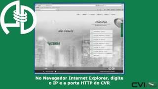 HDCVR Vídeo Aula 2 - Configurações de Rede