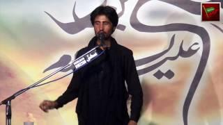 Zakir Saif Ali Notak 25 Rajab 2016 Jaloos e Taboot Imam Mosa Kazim (a.s) Chour Harpal