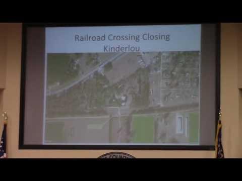 5 d. Crossing Closure - Kinderlou Road