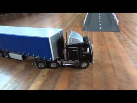 Radio controlled model trucks