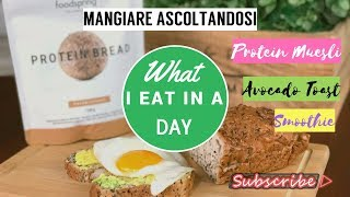 What I eat in a Day / Protein Avocado Toast / Intuitive Eating