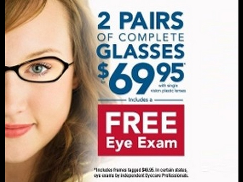 00045528cf4 My Review - America s Best Contacts   Eyeglasses! - YouTube