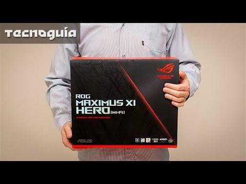 Asus ROG Maximus XI Hero Wi-Fi - Unboxing y Review en Español